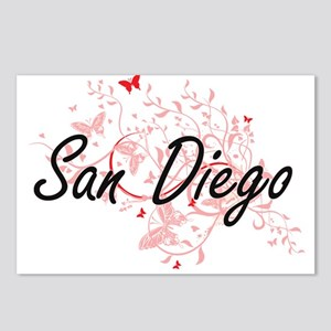 San Diego California City Postcards (Package of 8)