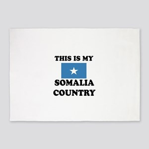 This Is My Somalia Country 5'x7'Area Rug