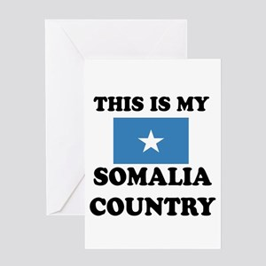 This Is My Somalia Country Greeting Card