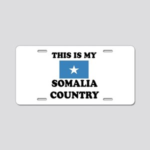 This Is My Somalia Country Aluminum License Plate