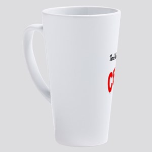 Theres Always Room For Cello 17 oz Latte Mug