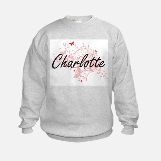 Charlotte North Carolina City Arti Sweatshirt