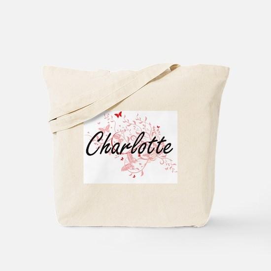 Charlotte North Carolina City Artistic de Tote Bag