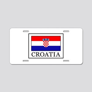 Croatia Aluminum License Plate