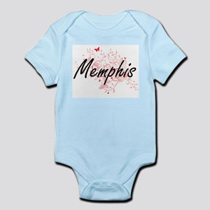 Memphis Tennessee City Artistic design w Body Suit