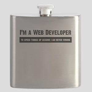 I am never wrong Flask