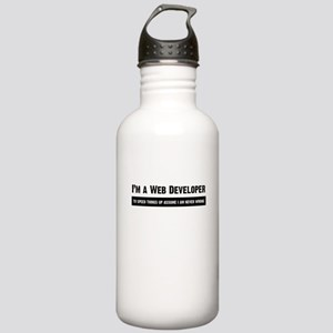 I am never wrong Water Bottle
