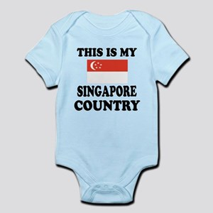 This Is My Singapore Country Infant Bodysuit