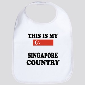 This Is My Singapore Country Bib