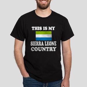 This Is My Sierra Leone Country Dark T-Shirt