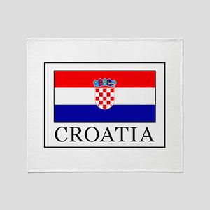 Croatia Throw Blanket