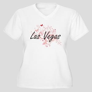 Las Vegas Nevada City Artistic d Plus Size T-Shirt