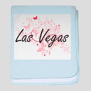 Las Vegas Nevada City Artistic design baby blanket