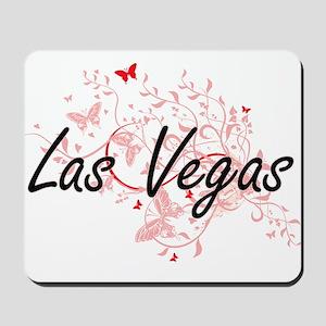 Las Vegas Nevada City Artistic design wi Mousepad