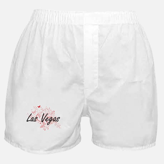 Las Vegas Nevada City Artistic design Boxer Shorts
