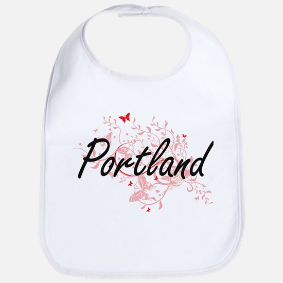 Portland Oregon City Artistic design with butt Bib