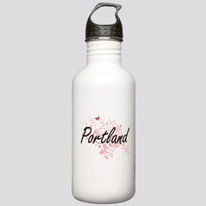 Portland Oregon City A Stainless Water Bottle 1.0L