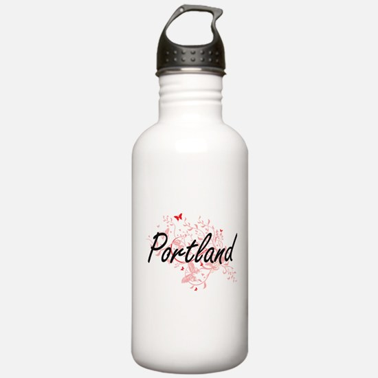 Portland Oregon City A Water Bottle