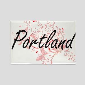 Portland Oregon City Artistic design with Magnets