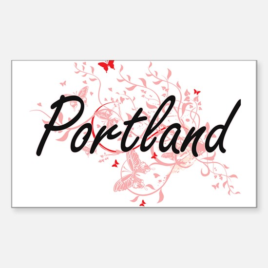 Portland Oregon City Artistic design with Decal