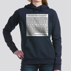 YOU DON'T KNOW JACK SHITT Sweatshirt