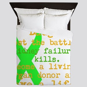 Personalize/Save A Life Queen Duvet