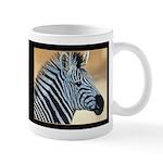 Zebra Portrait Mug