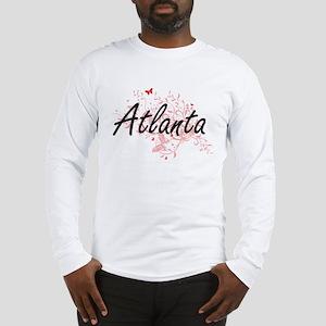Atlanta Georgia City Artistic Long Sleeve T-Shirt