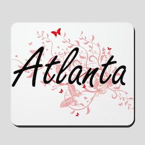 Atlanta Georgia City Artistic design wit Mousepad