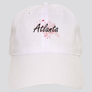 Atlanta Georgia City Artistic design with butt Cap