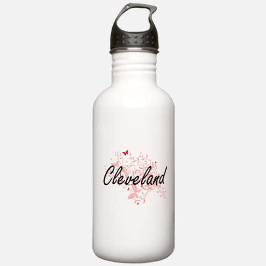 Cleveland Ohio City Ar Water Bottle