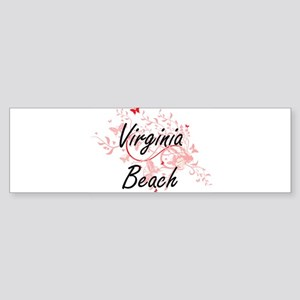 Virginia Beach Virginia City Artist Bumper Sticker