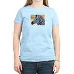 Zebra Portrait Women's Light T-Shirt
