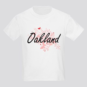 Oakland California City Artistic design wi T-Shirt