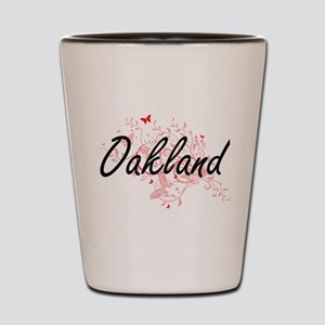 Oakland California City Artistic design Shot Glass