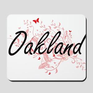 Oakland California City Artistic design Mousepad