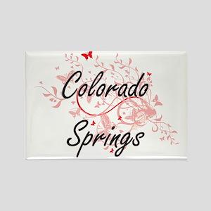 Colorado Springs Colorado City Artistic de Magnets