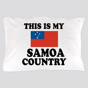 This Is My Samoa Country Pillow Case