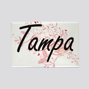 Tampa Florida City Artistic design with bu Magnets