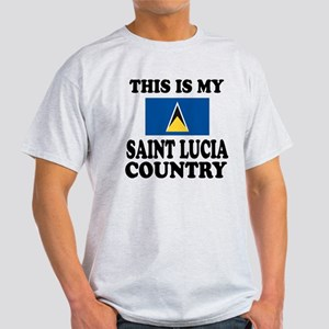 This Is My Saint Lucia Country Light T-Shirt