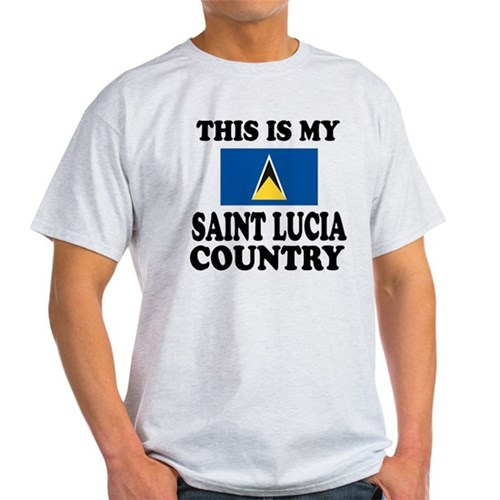 This Is My Saint Lucia Country T-Shirt