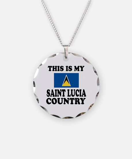 This Is My Saint Lucia Count Necklace