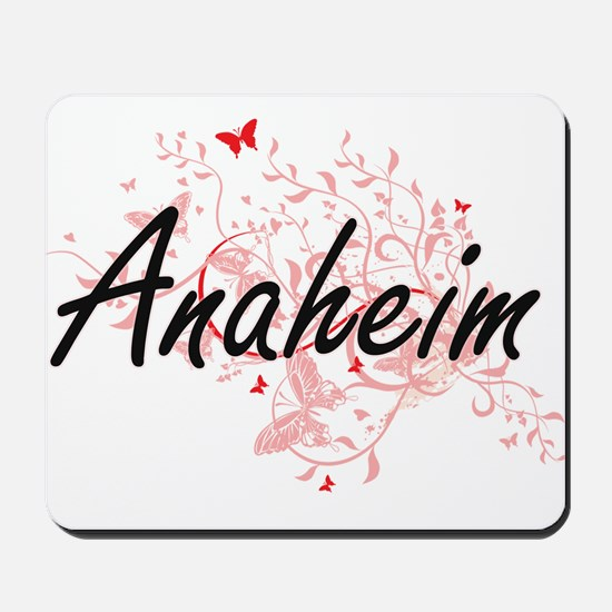 Anaheim California City Artistic design Mousepad