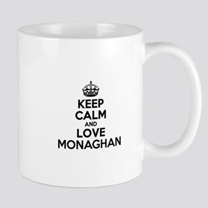 Keep Calm and Love MONAGHAN Mugs