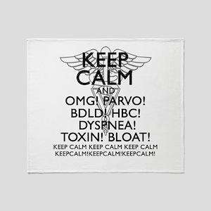 Calm (Veterinary) Throw Blanket