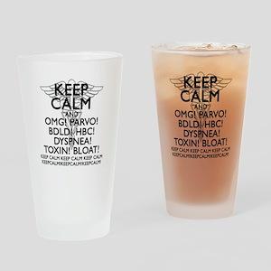 Calm (Veterinary) Drinking Glass