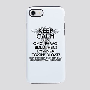 Calm (Veterinary) iPhone 8/7 Tough Case