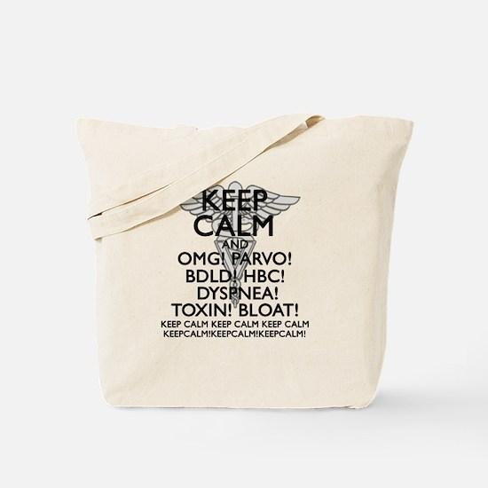 Calm (Veterinary) Tote Bag