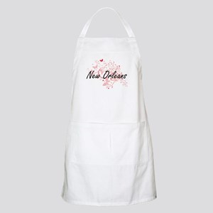 New Orleans Louisiana City Artistic design w Apron