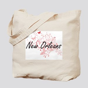 New Orleans Louisiana City Artistic desig Tote Bag